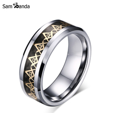 Buy 8mm Freemasons Ring Masonic Ring Men Women Gold Silver Black 316L Stainless Steel Charms Freemasonry Fashion Jewelry MAA5012 for $1.41 in AliExpress store