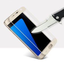 Buy 0.26mm Full Screen Protection Samsung Galaxy S7 G9300 Tempered Glass Screen Protector Film 9H Hardness Explosion Proof for $2.17 in AliExpress store