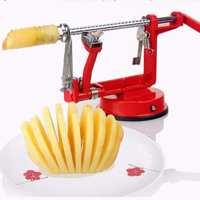 3 в 1 apple пилер фрукты нож машина для нарезки/нержавеющей стали apple фрукты машина очищенный инструмент Творческий Дом Кухня