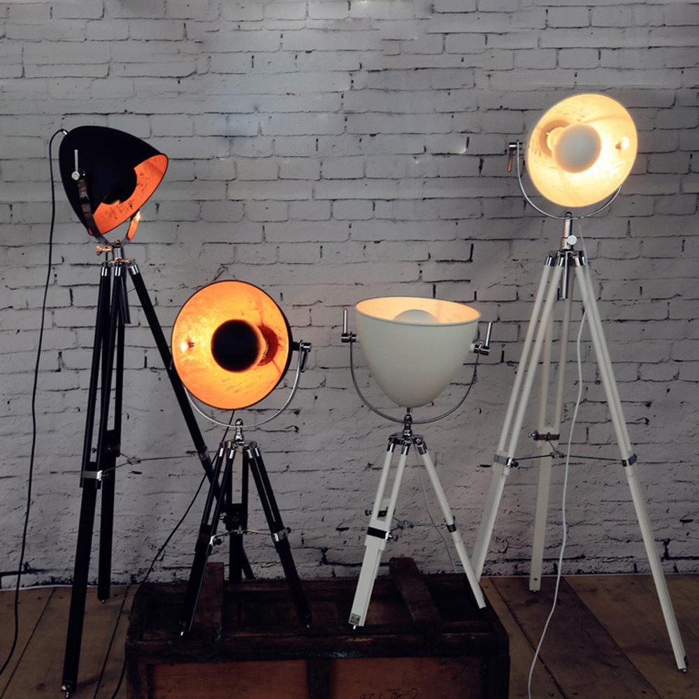 Achetez en gros vintage tr pied lampe en ligne des grossistes vintage tr pi - Lampadaire studio photo ...