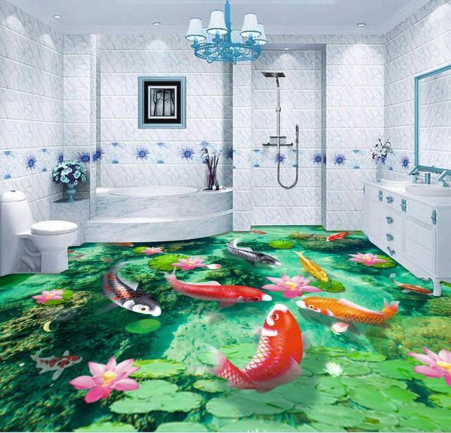 Aliexpress.com : Buy 3d Floor Painting Waterfall Custom 3d