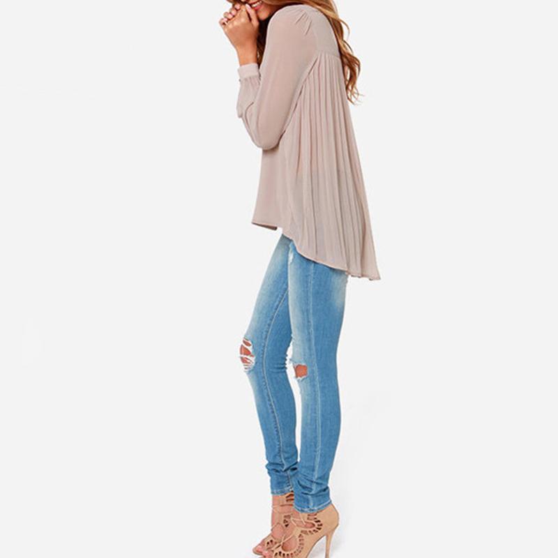Женская блузка из мужской рубашки доставка