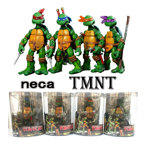 Teenage Mutant Ninja Turtles Figures Multicolour Headband 5.5 inch Leonardo, Donatello, Michelangelo, Raphael Set 4 - TOYTime Co., Ltd. store