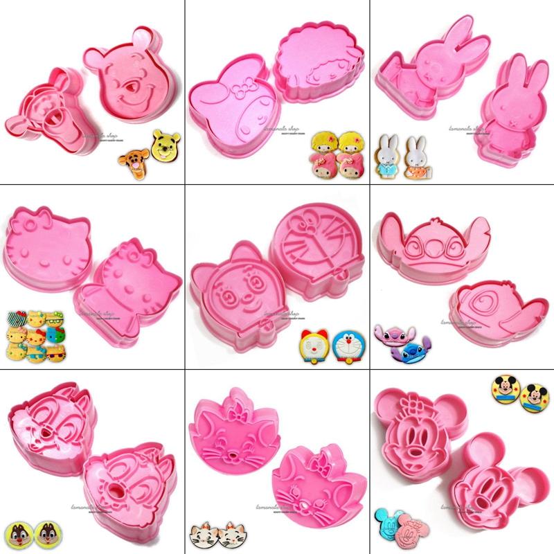 buy wholesale cute various cartoon shape fondant cake tools decorating