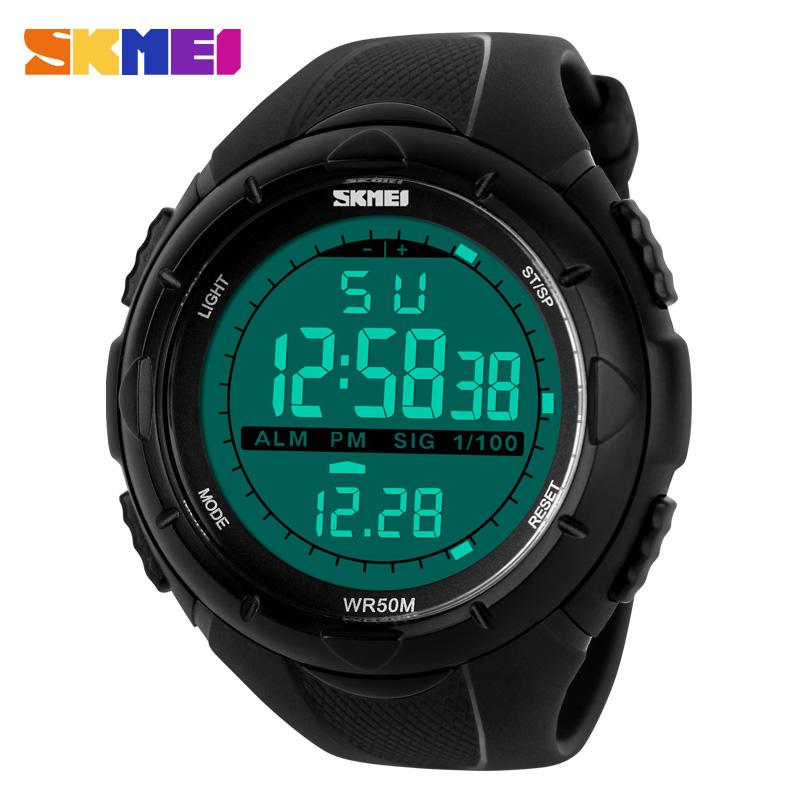 skmei brand sports watches led digital fashion