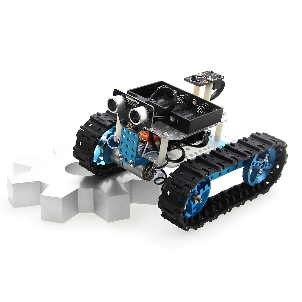 2015 Makeblock DIY Arduino Robot Starter Kit-Blue Educational Kids Toys scale models App Control Smart Robot DIY Kit(IR Version)(China (Mainland))