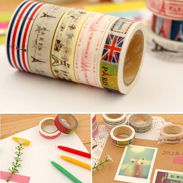 Paper Fashion ! 2pcs Livraison gratuite bande bricolage dentelle Autocollant Décoration Stickers / Papeterie bande / FZ2154 Tape bricolage(China (Mainland))