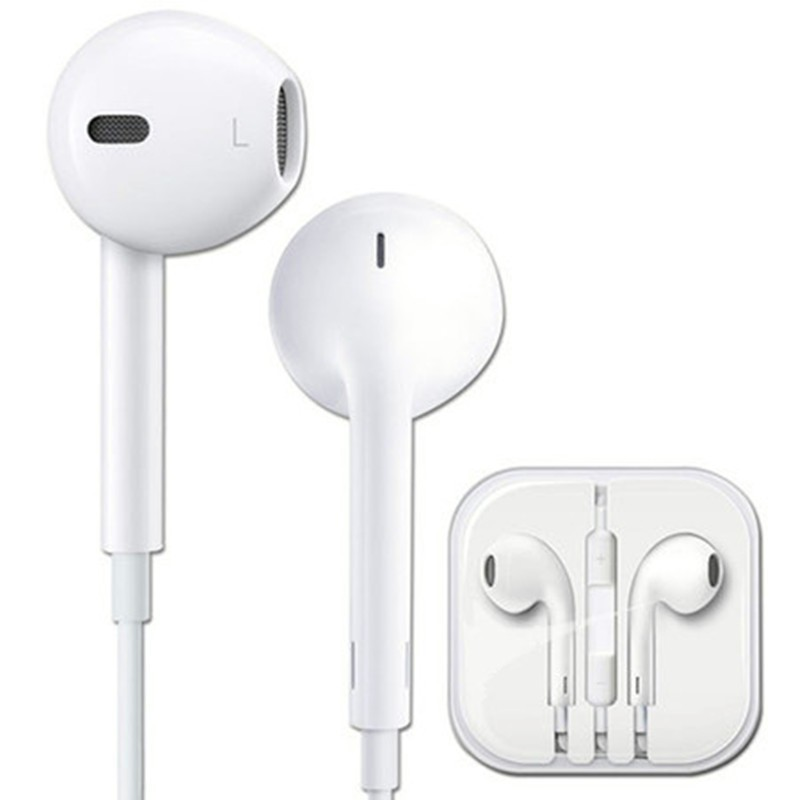 100% Genuine in-Ear earphone with Mic&Remote Original Earpods For apple iPhone 5 5S 5C 6 6plus Earpods ipod fone de ouvido(China (Mainland))