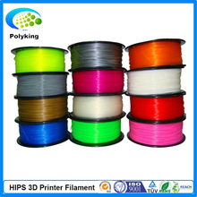 2015 high quality HIPS filaments for 3D Printer in 1.75mm/3mm