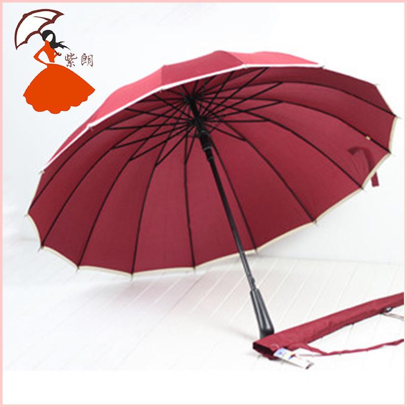 Место оптовая продажа торговли оригинальный одного 65 творческий прямо 16 К негабаритных зонтик уф зонтик