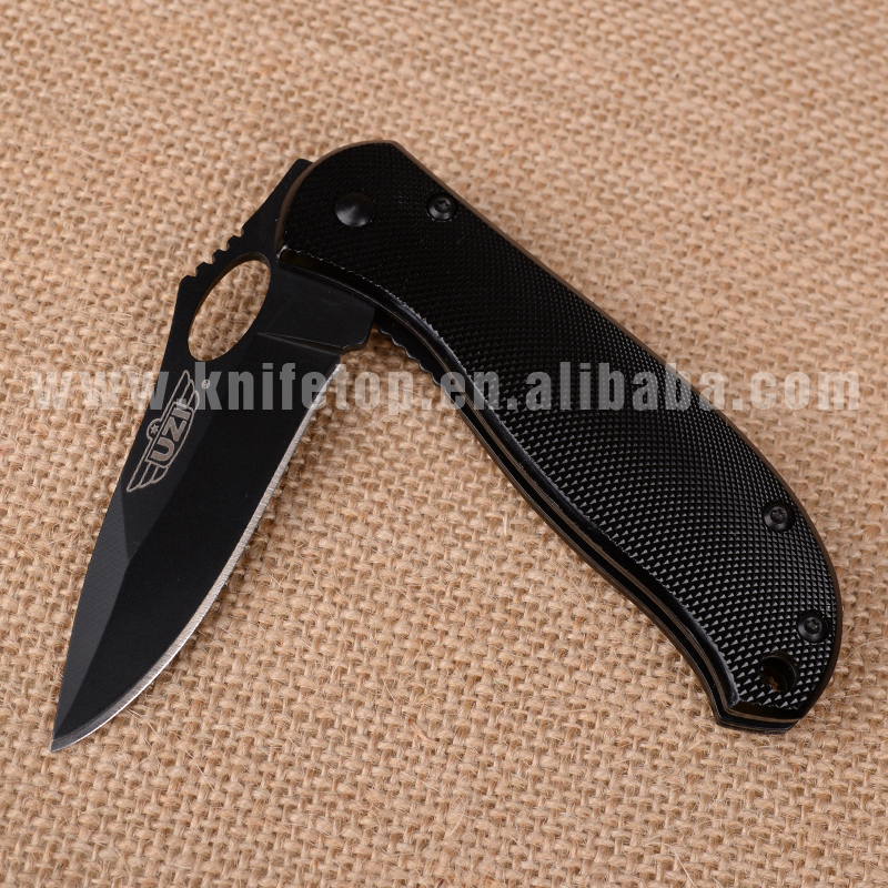 Huiwill folding blade knife stainless steel 8cr13mov knife outdoor camping survival knife(China (Mainland))