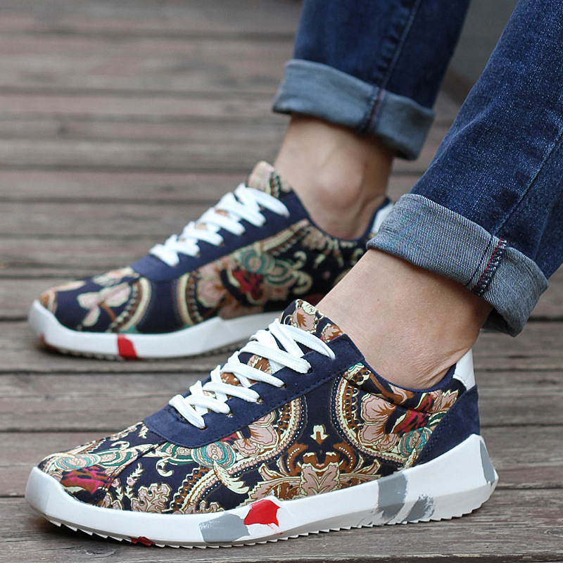 2015 New Men&Women Casual Sneakers Shoes Summer&Spring Canvas Shoes Fashion Camouflage Print Breathable Running Shoes for Couple
