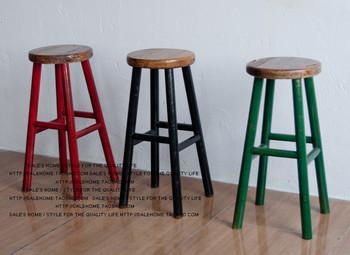 Pas cher new american pays faire le vieux r tro meubles en bois tabouret de - Vieux meubles pas cher ...