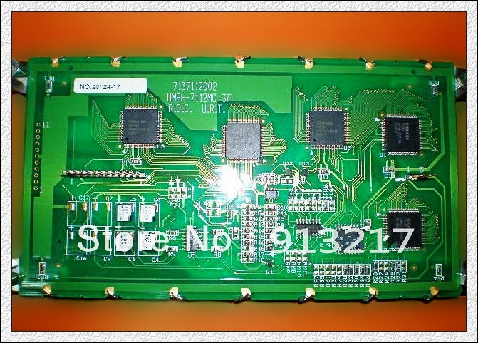 Original UMSH-7112MC-3F professional lcd screen for industrial 100% tested working DHL EMS free shipping(China (Mainland))
