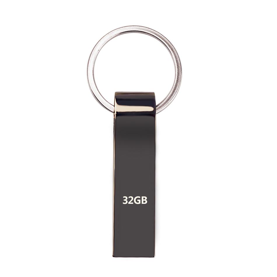 New king Ring High Speed Metal USB Flash Drives USB 2.0 Pen Drive 64GB/32GB/16GB/8GB/4GB Memory Flash Card U Disk Creative(China (Mainland))