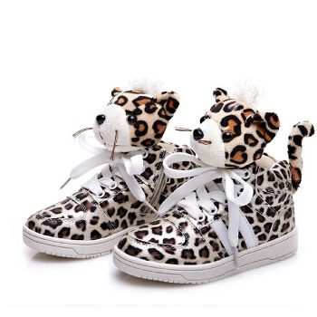 2013 autumn and winter High Quality New Design Children shoes leopard print boys&amp;girls shoes sport casual rubber shoes<br><br>Aliexpress