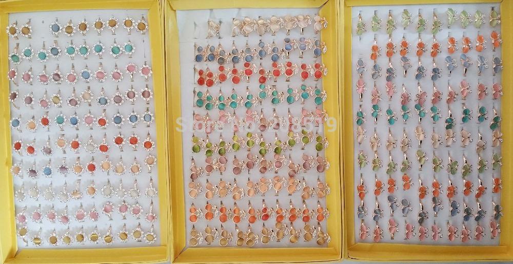 RZ0001 children finger rings 10pcs randomly adjustable sizes Novelty cartoon rings for kids(China (Mainland))