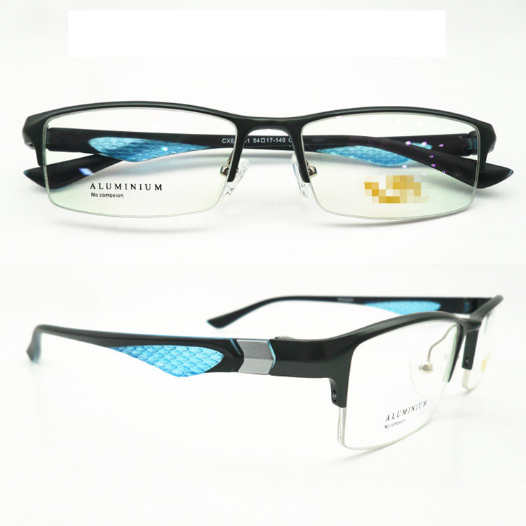 Sport Style Eyewear Aluminium Magnesium Alloy Myopia Glasses Frame for Men(China (Mainland))