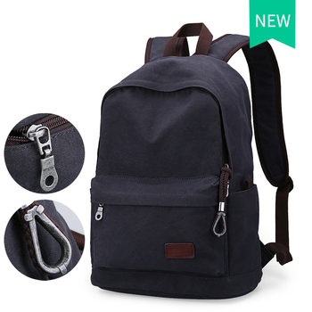 2016 Men Male Canvas Backpack College Student School Backpack Bags for Teenagers Vintage Mochila Casual Rucksack Travel Daypack