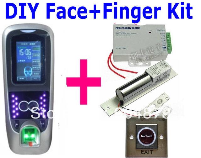 Free shipp Face+Fingerprint Door Access Control Zksoftware Multiple Biometric Fingerprint+Facial access control Multibio700