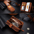 Luxury Business Style Flip Book Style Mobile Phone Bag Cover Card Holder Vintage Leather Case For