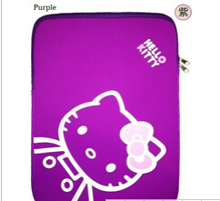 10-15 Inch Dustproof Anti-static Waterproof Breathable Bag for Notebook Laptop Bag Tablet Sleeve Case Hello Kitty Computer Bags(China (Mainland))