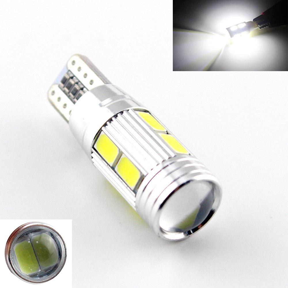 1X car styling Car Auto LED T10 194 W5W Canbus 10 smd 5630 cree LED Light Bulb No error led light parking T10 LED Car Side Light(China (Mainland))