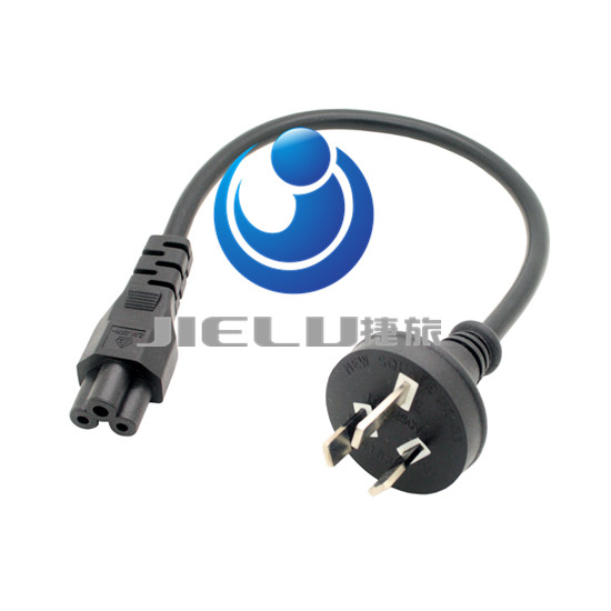300cm,50 pcs,High quality short power cord three turn Mickey all power cords for the computer's power, 9.9FT(China (Mainland))