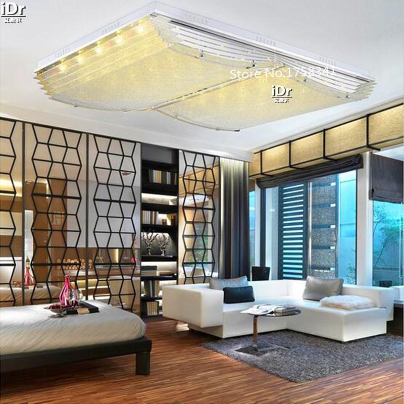 modern minimalist led lamps the living room lamp rectangular living. Black Bedroom Furniture Sets. Home Design Ideas
