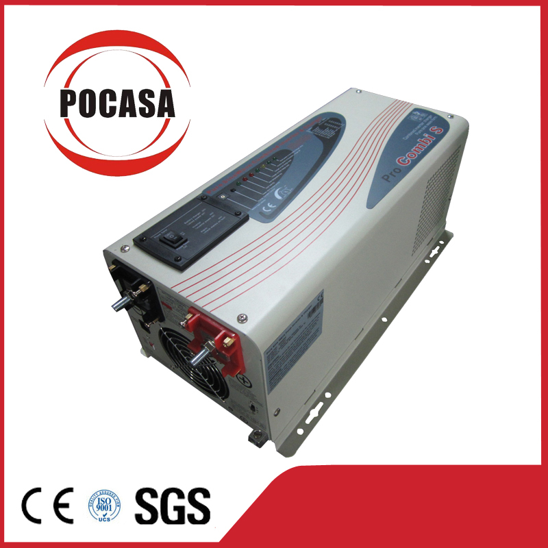 2015 Free Shipping DC To AC 3KW Inverter Supply Be Charged With Utility And Generator(China (Mainland))