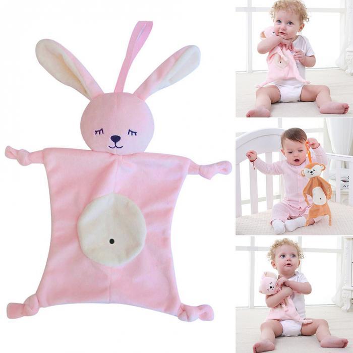 Children Kids Newborn Baby Soothing Saliava Towel Toys Multifunctional Appease Doll 998