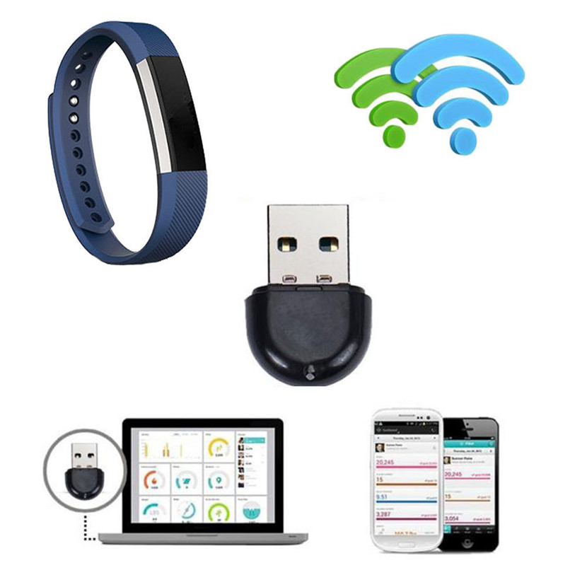 Mecall Tech Bluetooth Dongle Wireless Sync USB for Fitbit Alta Smart Watch Trcker Free Shipping(China (Mainland))
