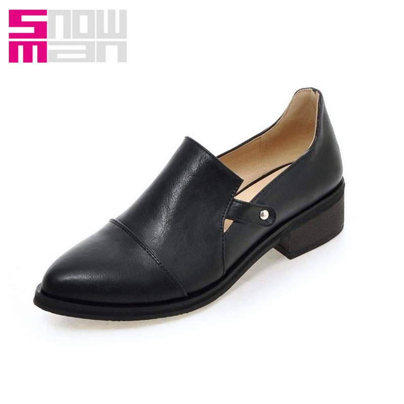 2016 Brand Casual Women Pumps Classics Pointed Toe Women Pumps Spring Square Heels Zapatos Mujer Neutral Cozy Office Shoes