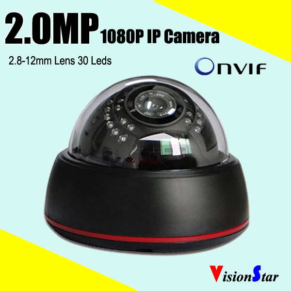 varifocal lens plastic ip camera 1080p onvif p2p security camera mini network camera day night ir cut camera(China (Mainland))