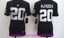 Stitched Women Oakland Raiders Charles Woodson Latavius Murray Milton Williams Nate Allen Howie Long For Ladies Girls()
