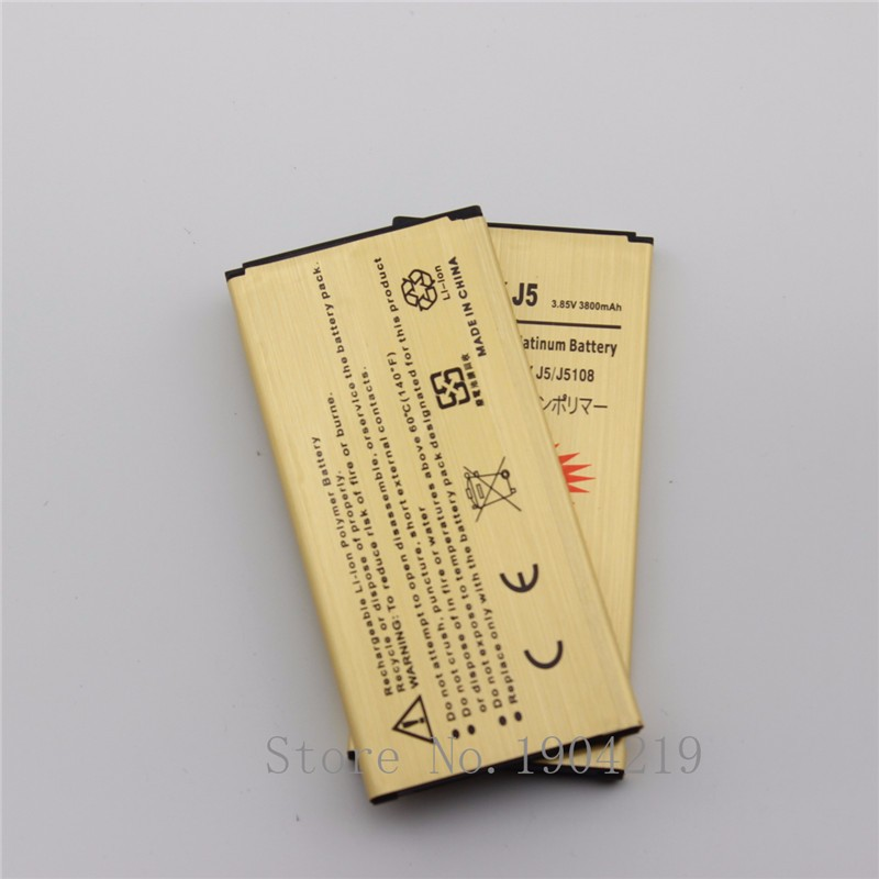 2 x EB-BJ510CBC J5 2016 Battery For Samsung Galaxy J5 2016 J510F J510 j5109 j5108 EB-BJ510CBC 3100mAh Mobile Phone Batteries