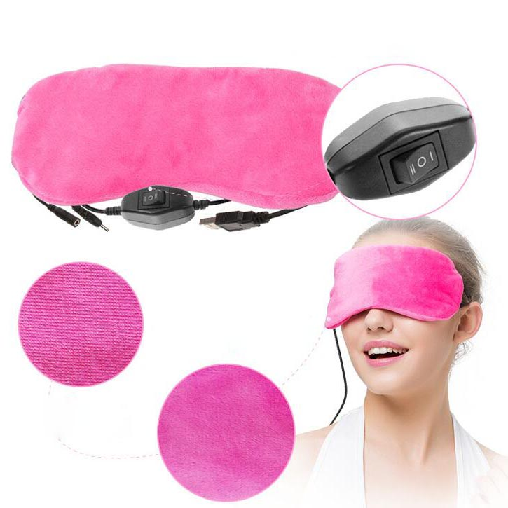 Professional care USB infrared electric Eyes Massager Makeup hot steam Eye patch for dark circles Promote blood circle(China (Mainland))
