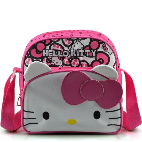 Elegant Women Embroidery Hello Kitty Hand BagLady Leisure Handbags Ladies