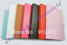 200pcs/lot Multi-Angle Folio Tablet Case 9″ inch Android/Window Tablet PC Leather Case, free shipping
