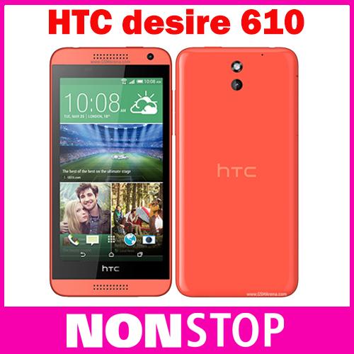"HTC Desire 610 Qual Core Original refurbished phone 4.7"" TouchScreen 1GB RAM 8GB ROM GPS Wifi Unlocked 3G 4G Android(China (Mainland))"