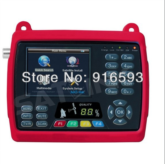 "100% Original SATLINK WS-6950 DVB-S Satlink WS 6950 3.5"" TFT LCD Digital Satellite Signal Finder Meter(China (Mainland))"