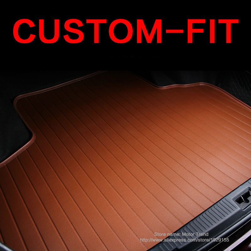 Custom fit car trunk mat for Audi A1 A3 A4 A6 A7 A8 Q5 Q7 TT 3D car-styling heavy duty all weather tray carpet cargo liner<br><br>Aliexpress