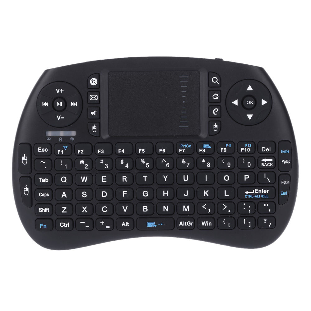 Japanese and English Bluetooth Mini Wireless QWERTY Keyboard and Mouse Touchpad Combo for Android TV Box/Google TV Box/PC/Pad(China (Mainland))