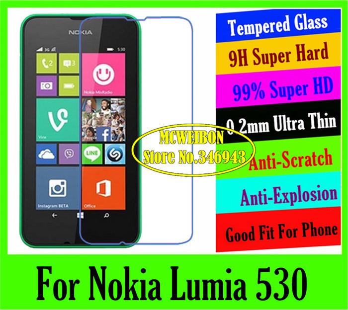 Защитная пленка для мобильных телефонов 0,2 9H Nokia Lumia 530 LCD защитная пленка для мобильных телефонов 6 x hd microsoft nokia lumia 535