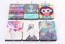 New Case For Samsung Galaxy Tab 4 8.0 inch T330 / T331 / T335 Tablet Delux Painting PU Leather Case Cover