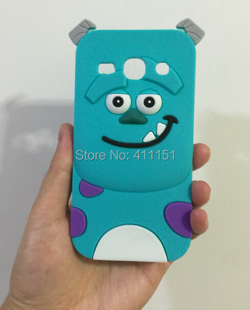 Cute 3D Cartoon Sulley Silicone Case Back Cover Samsung Galaxy Core Plus G350 - ALEX ZHOU Store store