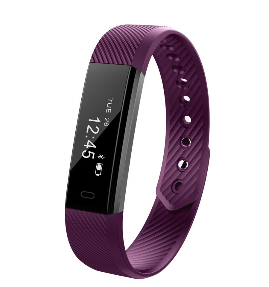 ID115 Smart Band Bluetooth Bracelet Pedometer Fitness Tracker Watch Remote Camera Wristband For Android iOS xiomi pk mi band 2