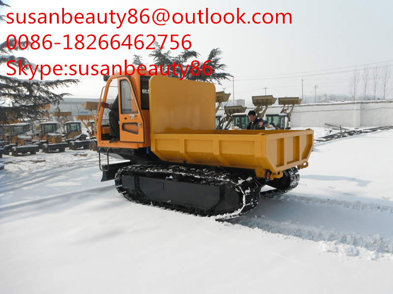 CHINA famous brand hydraulic dump transporter self dumping , dump carrier(China (Mainland))