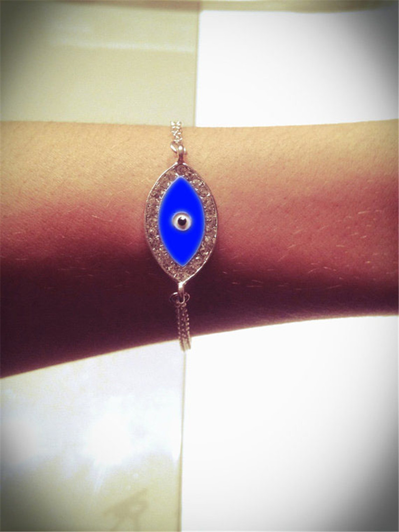 2015 New arrival gold silver Fashion Punk Metal Bracelet Vintage Cat's Eye dainty charm well bangles hand jewelry free shipping(China (Mainland))