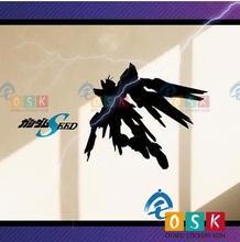 Japanese Cartoon Fans SEED ZGFM-X20A GUNDAM Vinyl Wall Stickers Decal Decor Home Decorative Decoration